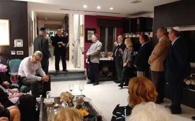 Marie Benoit's Diary: Setting up the Tayar Foundation